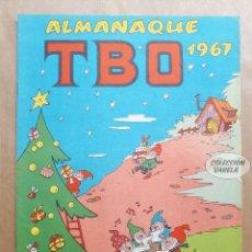Tebeos: ALMANAQUE TBO 1967 - ORIGINAL. Lote 262277415