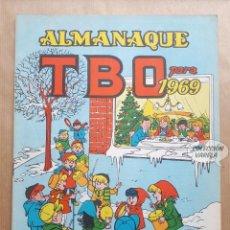 Tebeos: ALMANAQUE TBO 1969 - ORIGINAL. Lote 262278815