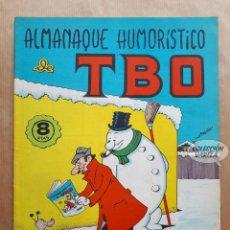 Tebeos: ALMANAQUE HUMORÍSTICO DE TBO 1967 - BUIGAS 1966. Lote 262610285