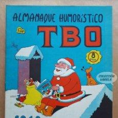 Tebeos: ALMANAQUE HUMORÍSTICO DE TBO 1968 - BUIGAS 1967. Lote 262611080