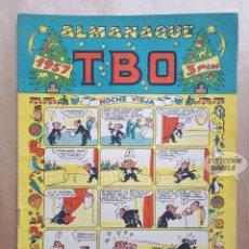 Tebeos: ALMANAQUE TBO 1957 - ORIGINAL - NOCHE VIEJA. Lote 262759075