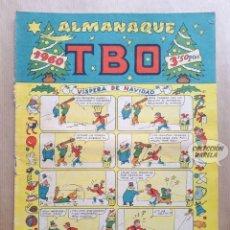 Tebeos: ALMANAQUE TBO 1960 - ORIGINAL - VÍSPERA DE NAVIDAD. Lote 262759805