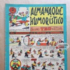 Tebeos: ALMANAQUE HUMORÍSTICO PARA 1955 - TBO BUIGAS 1954. Lote 262760710