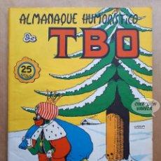 Tebeos: ALMANAQUE HUMORÍSTICO DE TBO 1972 - BUIGAS 1971. Lote 262767470