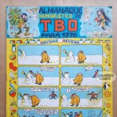 Tebeos: ALMANAQUE HUMORÍSTICO DE TBO 1976 - BUIGAS 1975. Lote 262769950