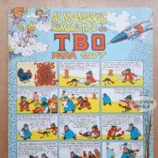 Tebeos: ALMANAQUE HUMORÍSTICO DE TBO 1977 - BUIGAS 1976. Lote 262771835