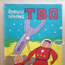 Tebeos: ALMANAQUE TBO 1965 - ORIGINAL. Lote 262776890
