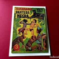 Tebeos: ALMANAQUE PANTERA NEGRA 1959. Lote 263153925