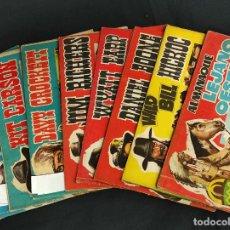 Tebeos: LEJANO OESTE ALMANAQUE 1959 + 8 TEBEOS DE LA COLECCION -. Lote 264145876