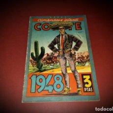 Tebeos: ALMANAQUE COYOTE AÑO 1948 -ORIGINAL. Lote 266115553