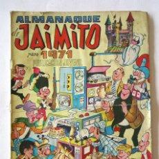 Tebeos: ALMANAQUE JAIMITO AÑO 1971. Lote 266468438