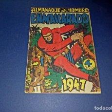 Tebeos: ALMANAQUE EL HOMBRE ENMASCARADO 1947. Lote 266544143
