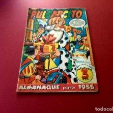 BDs: ALMANAQUE PULGARCITO 1955 - BRUGUERA. Lote 267780524