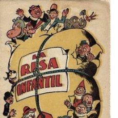 Tebeos: ALMANAQUE LA RISA INFANTIL AÑO 1942, ORIGINAL. Lote 267883964
