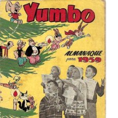 BDs: ALMANAQUE YUMBO AÑO 1959, ORIGINAL. Lote 267886619