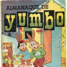 Tebeos: ALMANAQUE YUMBO 1957. Lote 269452578