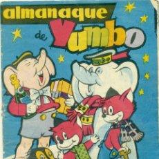 Tebeos: ALMANAQUE YUMBO 1961. Lote 269452943