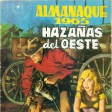 BDs: ALMANAQUE HAZAÑAS DEL OESTE DEL AÑO 1965. Lote 269455188