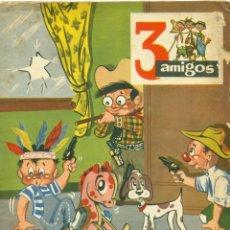 Tebeos: 3 AMIGOS Nº 4 FELIZ 1957. Lote 269455743