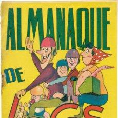 BDs: ALMANAQUE DE LOCOS 1962. Lote 269458113