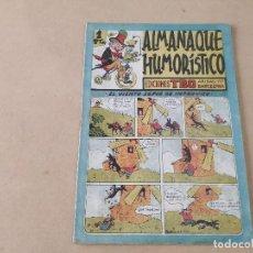 BDs: ALMANAQUE HUMORÍSTICO TBO - AÑO 1945. Lote 270593033