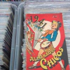 Livros de Banda Desenhada: ALMANAQUE CHICOS 1941, ORIGINAL, CONTIENE RECORTABLE. Lote 271133348