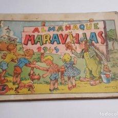 Tebeos: COMIC ALMANAQUE MARAVILLAS 1945. Lote 271978243