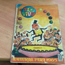 Livros de Banda Desenhada: TIO VIVO ALMANAQUE 1965 (ORIGINAL CRISOL) (COIB-205). Lote 275019463