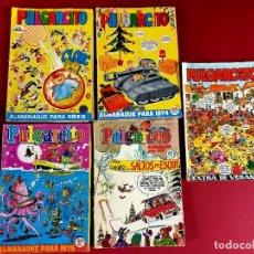 BDs: ALMANAQUE PULGARCITO AÑOS 1973-1974-1975-1979 Y EXTRA VERANO 1971. Lote 275190363
