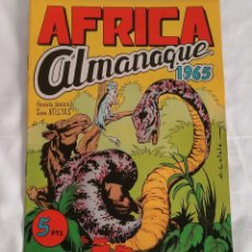 Giornalini: ALMANAQUE 1965 COLECCIÓN AFRICA MAGA ¡ORIGINAL!. Lote 275759983