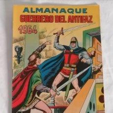 Giornalini: ALMANAQUE 1964 EL GUERRERO DEL ANTIFAZ ¡ORIGINAL!. Lote 275760828
