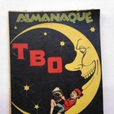 Giornalini: ALMANAQUE TBO - 1929 - 52 PÁG. PORTADA OPISSO - MUY BUEN ESTADO - VER FOTOS Y DESCRIPCION. Lote 275887598