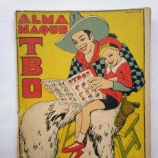 Giornalini: ALMANAQUE TBO - 1931 - 52 PÁG. PORTADA OPISSO - BUENO - VER FOTOS Y DESCRIPCION. Lote 275889013