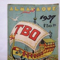 Giornalini: ALMANAQUE TBO - 1939 - 36 PÁG. PORTADA OPISSO -BASTANTE BUEN ESTADO - VER FOTOS Y DESCRIPCION. Lote 275891228