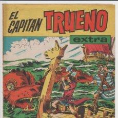 Livros de Banda Desenhada: EL CAPITAN TRUENO - ALMANAQUE 1961 (ORIGINAL). Lote 276181918