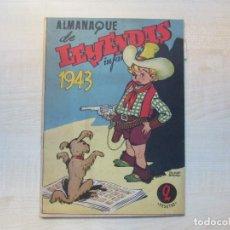 Giornalini: ALMANAQUE DE LEYENDAS INFANTILES 1943. Lote 276389213