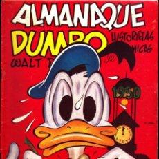 Giornalini: COMIC ALMANAQUE DUMBO 1950. Lote 276522203