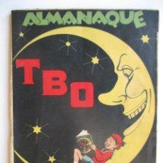 Tebeos: ALMANAQUE TBO 1929 - 52 PÁG. PORTADA OPISSO. MUY BUEN ESTADO. VER FOTOS. Lote 277645643