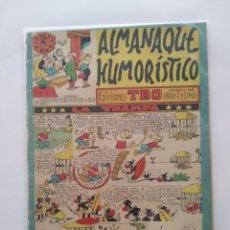 Tebeos: ALMANAQUE HUMORISTICO EDI. TBO LA TRAMPA RV. Lote 279367938