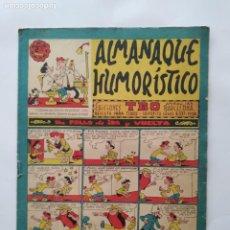 Tebeos: ALMANAQUE HUMORISTICO PARA 1963 EDI. TBO MUY BIEN CONSERVADO RV. Lote 279370358