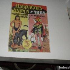 BDs: ALMANAQUE FACSIMIL PEQUEÑO PANTERA Y AGUILUCHO 1961.. Lote 286414173
