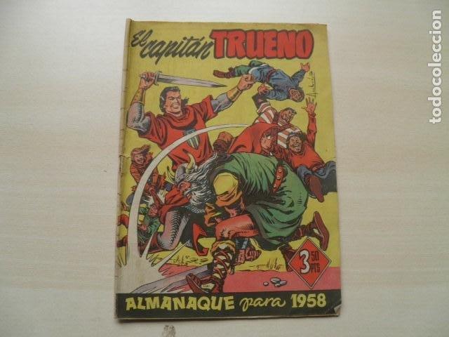 EL CAPITAN TRUENO (Tebeos y Comics - Tebeos Almanaques)