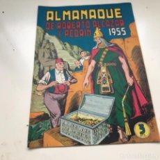 Tebeos: TBO CLÁSICO ESPAÑOL ALMANAQUE 1955 ROBERTO ALCAZAR Y PEDRIN. Lote 287722228