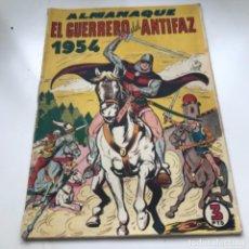 Tebeos: TBO CLÁSICO ESPAÑOL ALMANAQUE EL GUERRERO DEL ANTIFAZ 1954. Lote 287723388
