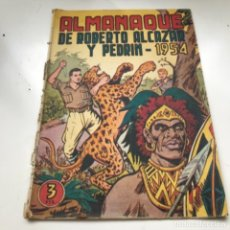 Tebeos: TBO CLÁSICO ESPAÑOL ALMANAQUE ROBERTO ALCAZAR Y PEDRIN 1954. Lote 287723788