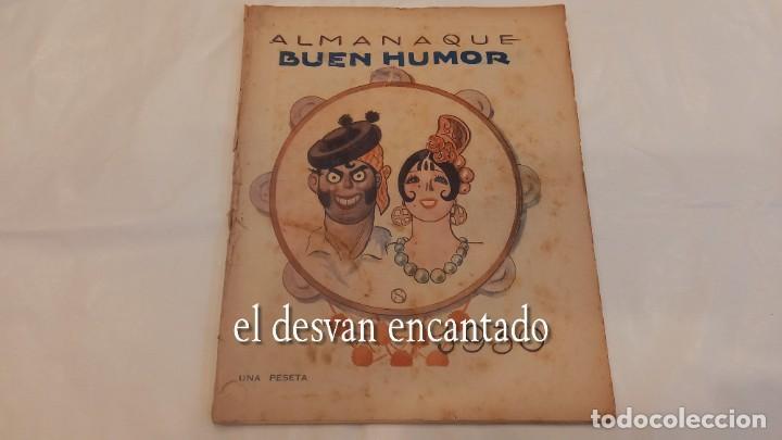 ALMANAQUE BUEN HUMOR PARA 1930. VER FOTOS (Tebeos y Comics - Tebeos Almanaques)