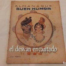 Tebeos: ALMANAQUE BUEN HUMOR PARA 1930. VER FOTOS. Lote 287899908
