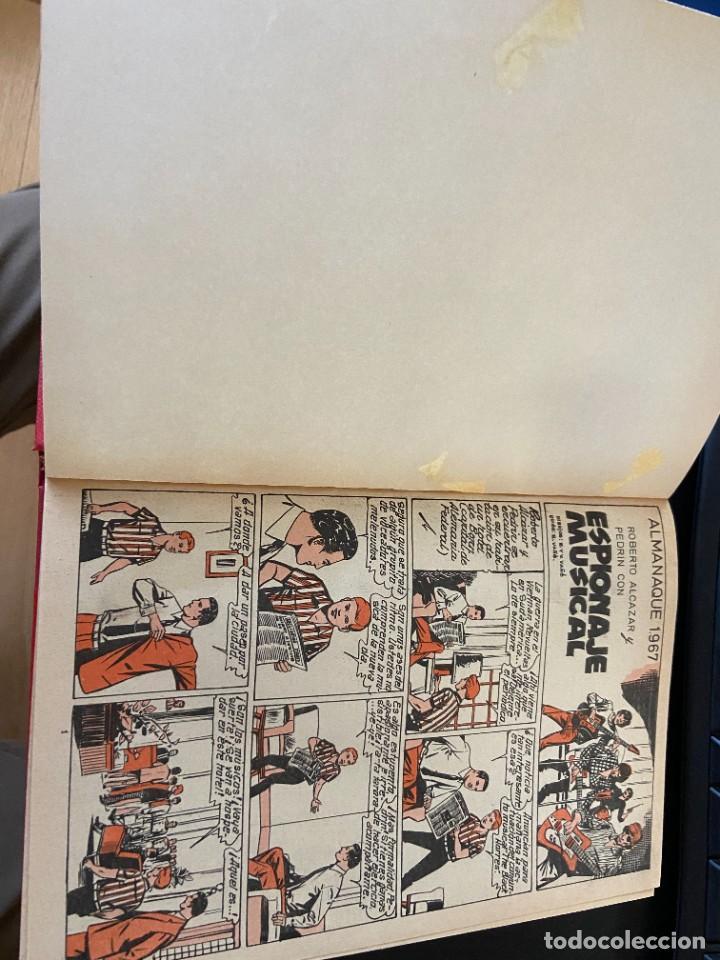 Tebeos: 12 almanaques roberto alcazar almanaques 1967-1968-1969-1975-1976 purk 1976 y 6 del guerrero del ant - Foto 2 - 288068138