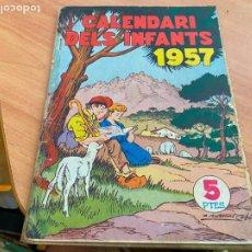 Tebeos: CALENDARI ALMANAC DELS INFANTS PER 1957 () (COIB207). Lote 288357773
