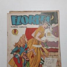 Livros de Banda Desenhada: ALMANAQUES FLORITA DE 1953-1954- AL 1957 Y ESPECIAL 1958. Lote 289469918